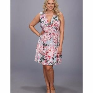BB Dakota - Begonia Printed Dress Size 18